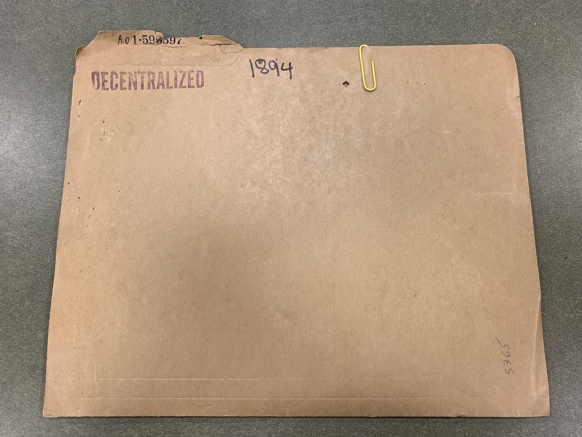 Teresa Sterrantino Alien Case File Folder